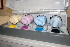 εκτύπωση εκτυπωτών ψηφια&kap Στοκ εικόνα με δικαίωμα ελεύθερης χρήσης