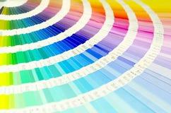 εκτύπωση παλετών βιομηχανίας οδηγών χρώματος Στοκ Φωτογραφία
