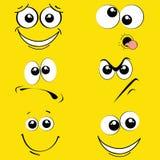 Εκφράσεις διανυσματική απεικόνιση