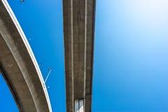 Εκφράστε τον τρόπο με το μπλε ουρανό στοκ φωτογραφίες με δικαίωμα ελεύθερης χρήσης