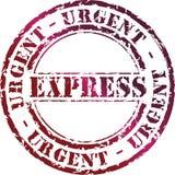 εκφράστε το γραμματόσημο Στοκ Εικόνες
