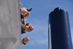 εκφραστικά χέρια Στοκ εικόνες με δικαίωμα ελεύθερης χρήσης