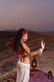 Εκφραστικός ασιατικός χορός Στοκ Εικόνες