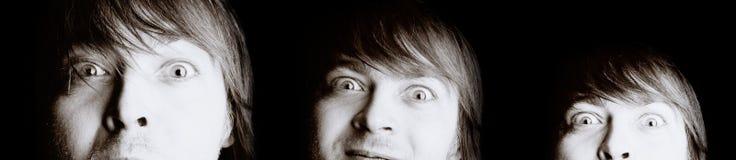 εκφραστικό άτομο Στοκ φωτογραφία με δικαίωμα ελεύθερης χρήσης