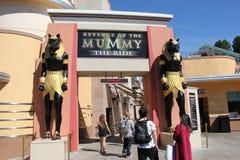 Εκδίκηση του Mumy στα UNIVERSAL STUDIO Hollywood Στοκ Εικόνες