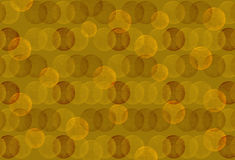 Εκλεκτής ποιότητας άνευ ραφής κίτρινο καφετί υπόβαθρο σημείων Πόλκα διανυσματική απεικόνιση