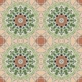 Εκλεκτής ποιότητας άνευ ραφής σχέδιο Mandala στοκ εικόνες