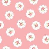 Εκλεκτής ποιότητας άνευ ραφής floral σχέδιο Στοκ φωτογραφία με δικαίωμα ελεύθερης χρήσης