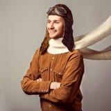 Εκλεκτής ποιότητας άτομα μόδας Στοκ Φωτογραφία