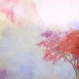 Εκλεκτής ποιότητας έγγραφο watercolor κρητιδογραφιών στοκ φωτογραφία με δικαίωμα ελεύθερης χρήσης