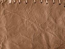 Εκλεκτής ποιότητας δέρμα Στοκ Εικόνα