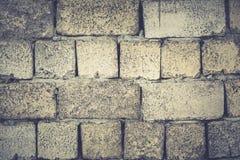 Εκλεκτής ποιότητας ή βρώμικο άσπρο υπόβαθρο του φυσικής τσιμέντου ή της πέτρας ol Στοκ Εικόνες