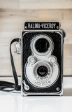 Εκλεκτής ποιότητας δίδυμη κάμερα φακών halina-αντιβασιλέων Στοκ εικόνες με δικαίωμα ελεύθερης χρήσης