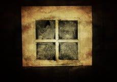 Εκλεκτής ποιότητας αγροτικό παράθυρο Στοκ Εικόνες