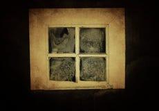 Εκλεκτής ποιότητας αγροτικό παράθυρο Στοκ φωτογραφία με δικαίωμα ελεύθερης χρήσης