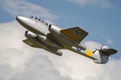 Εκλεκτής ποιότητας αεριωθούμενο αεροπλάνο μετεωριτών Gloster Στοκ Εικόνα
