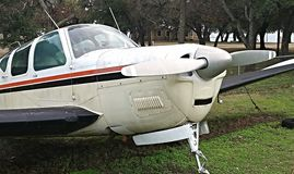Εκλεκτής ποιότητας αεροπλάνο στηριγμάτων Στοκ εικόνες με δικαίωμα ελεύθερης χρήσης