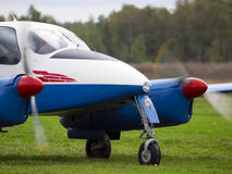 Εκλεκτής ποιότητας αεροπλάνο Στοκ Φωτογραφία