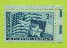 Εκλεκτής ποιότητας ΑΜΕΡΙΚΑΝΙΚΟ γραμματόσημο στοκ εικόνα με δικαίωμα ελεύθερης χρήσης