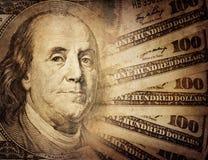 Εκλεκτής ποιότητας αμερικανικό δολάριο Στοκ Εικόνες