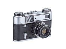 εκλεκτής ποιότητας αναλογική κάμερα Στοκ εικόνα με δικαίωμα ελεύθερης χρήσης