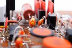Εκλεκτής ποιότητας αναλογικό PCB Στοκ Εικόνα