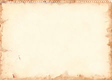 Εκλεκτής ποιότητας αναδρομική σύσταση υποβάθρου φύλλων watercolor grunge Στοκ φωτογραφίες με δικαίωμα ελεύθερης χρήσης