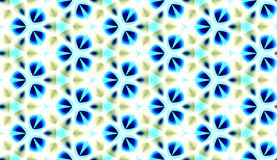 Εκλεκτής ποιότητας αναδρομικό άνευ ραφής σχέδιο Στοκ Εικόνα