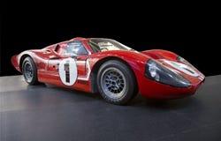 Εκλεκτής ποιότητας/αναδρομικό αθλητικό αυτοκίνητο της Ford που απομονώνεται Στοκ Εικόνα