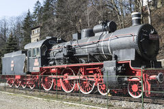 Εκλεκτής ποιότητας ατμομηχανή ατμού Στοκ Φωτογραφίες