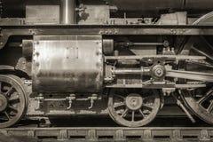 Εκλεκτής ποιότητας ατμομηχανή ατμού Στοκ φωτογραφία με δικαίωμα ελεύθερης χρήσης
