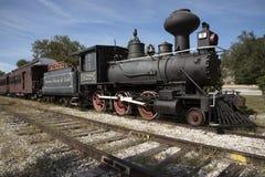 Εκλεκτής ποιότητας ατμομηχανή σιδηροδρόμου στο υποστήριγμα Dora Φλώριδα ΗΠΑ Στοκ Εικόνες