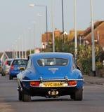 Εκλεκτής ποιότητας αυτοκίνητο ε-τύπων ιαγουάρων v12 Στοκ Φωτογραφίες