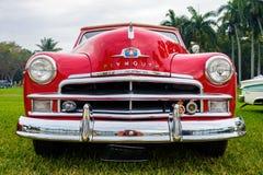 Εκλεκτής ποιότητας αυτοκίνητο του Πλύμουθ Στοκ Εικόνα