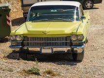 Εκλεκτής ποιότητας αυτοκίνητο 1950 americam de ville Cadillac Στοκ Εικόνα