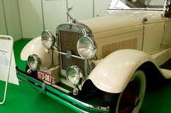 Εκλεκτής ποιότητας αυτοκίνητο HUDSTON έξοχα έξι - άποψη από το μέτωπο Στοκ φωτογραφία με δικαίωμα ελεύθερης χρήσης