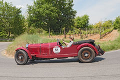 Εκλεκτής ποιότητας αυτοκίνητο Mercedes-Benz 710 SS (1929) Στοκ Εικόνες