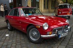 Εκλεκτής ποιότητας αυτοκίνητο MGB GT, που σχεδιάζεται από Pininfarina, 1974 Στοκ φωτογραφία με δικαίωμα ελεύθερης χρήσης