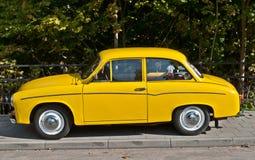 Εκλεκτής ποιότητας αυτοκίνητο Syrena 105 Στοκ εικόνα με δικαίωμα ελεύθερης χρήσης