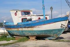 Εκλεκτής ποιότητας αλιευτικό σκάφος Στοκ Εικόνες