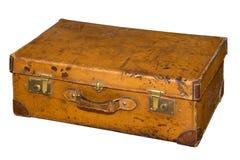 Εκλεκτής ποιότητας βαλίτσα δέρματος Στοκ Εικόνες