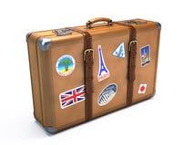 Εκλεκτής ποιότητας βαλίτσα Στοκ εικόνα με δικαίωμα ελεύθερης χρήσης