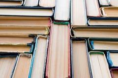Εκλεκτής ποιότητας βιβλία hardcover Στοκ Εικόνα
