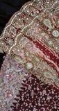Εκλεκτής ποιότητας γάμος Saris Στοκ φωτογραφίες με δικαίωμα ελεύθερης χρήσης