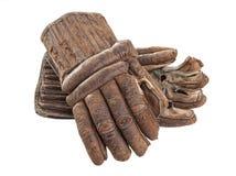 Εκλεκτής ποιότητας γάντια χόκεϋ Στοκ φωτογραφία με δικαίωμα ελεύθερης χρήσης