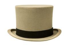 Εκλεκτής ποιότητας γκρίζο τοπ καπέλο Στοκ Εικόνα