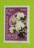 Εκλεκτής ποιότητας γραμματόσημο της Ρωσίας Στοκ Φωτογραφίες