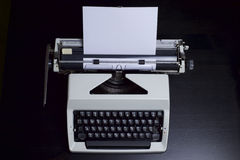 Εκλεκτής ποιότητας γραφομηχανή Στοκ φωτογραφία με δικαίωμα ελεύθερης χρήσης