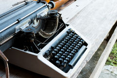 Εκλεκτής ποιότητας γραφομηχανή στοκ φωτογραφίες με δικαίωμα ελεύθερης χρήσης