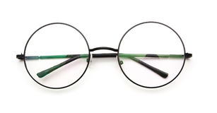 εκλεκτής ποιότητας γυαλιά κύκλων Στοκ φωτογραφία με δικαίωμα ελεύθερης χρήσης